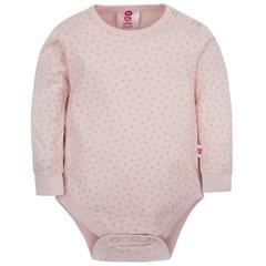 Gmini Body cu maneca lunga Basic Triangles Pink 74