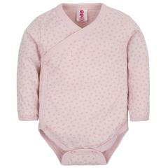 Gmini Body cu maneca lunga Basic Extra- Triangles Pink 68