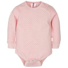 Gmini Body cu maneca lunga Basic Pink Hearts 86