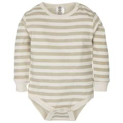 Gmini Body cu maneca lunga Basic Beige Stripes 74