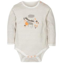 Gmini Body cu maneca lunga Stripes and Reindeer 80