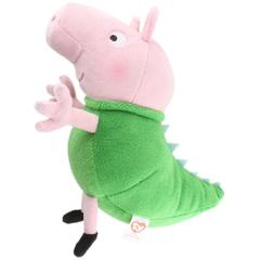 Plus Licenta Peppa Pig, George In Costum De Dinozaur (15 Cm) - Ty