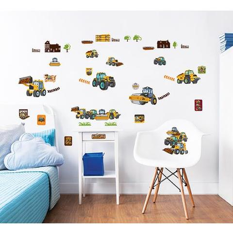 Walltastic Kit Decor Sticker My First JCB Muddy Friends