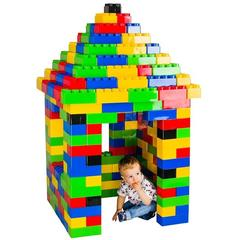 Super Plastic Toys Set de constructie gigant Educational Bricks
