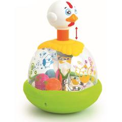 Baby Mix Jucarie interactiva Egg Spinner