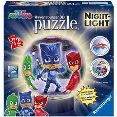 Puzzle 3d Eroi In Pijamale M1
