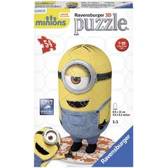 Puzzle 3d Minions Figurina, 54 Piese