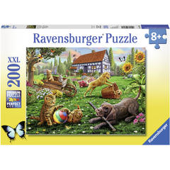 Puzzle Animalute Jucause, 200 Piese