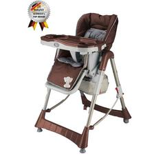 BabyGo – Scaun de masa Tower Maxi Brown