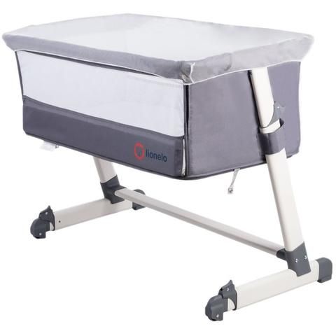 Lionelo - Patut 2 in 1 Co-Sleeper Theo Dark Grey