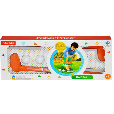 Fisher Price Primul meu set de golf