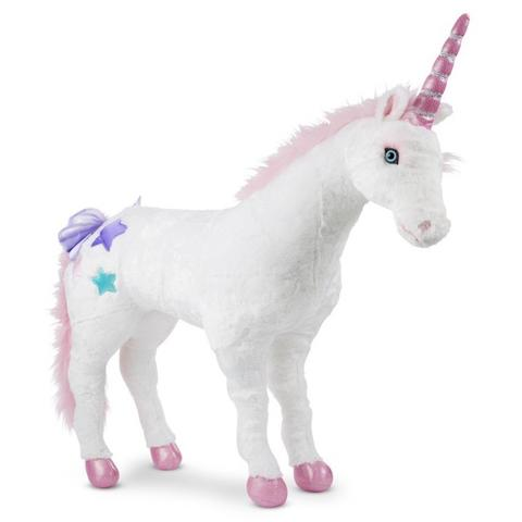 Melissa&Doug Unicorn gigant din plus Melissa and Doug