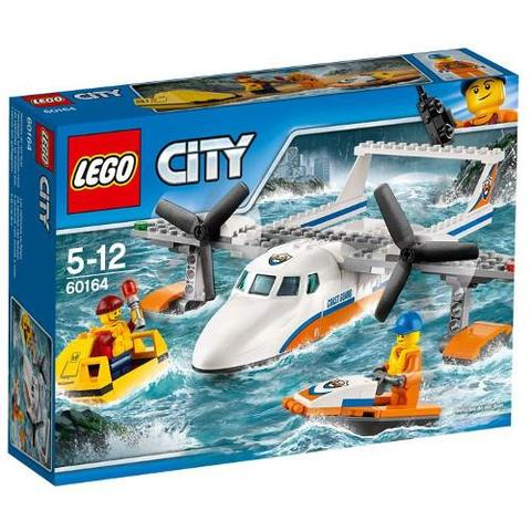 LEGO City Avion de Salvare pe Mare 60164