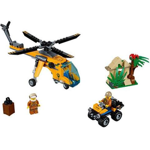 LEGO City Elicopter de Marfa in Jungla 60158