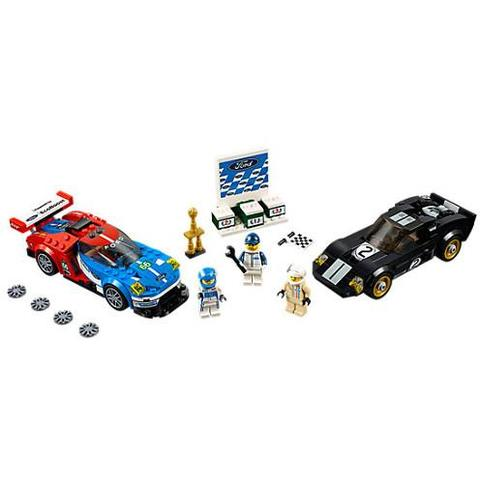 LEGO Speed Champions Ford GT 2016 & Ford GT40 1966, 75881