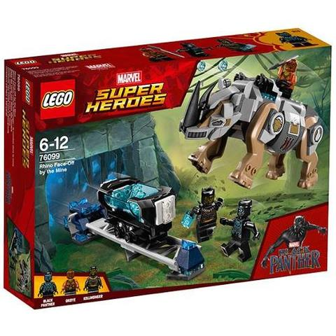 LEGO Marvel Super Heroes Rhino Face-Off 76099