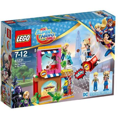 LEGO DC Super Hero Girls Salvatorul Harley Quinn 41231