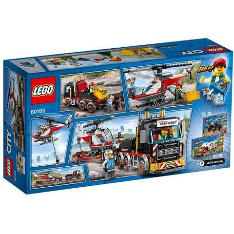 LEGO City Transport de Incarcaturi Grele 60183