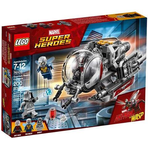 LEGO Marvel Super Heroes Exploratorii Taramului Cuantic 76109