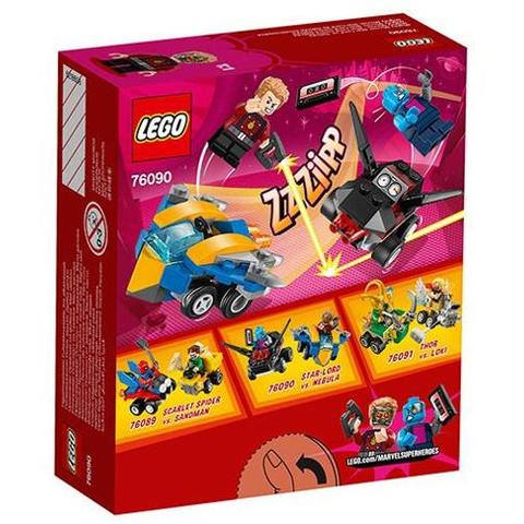 LEGO Super Heroes Mighty Micros Star Lord Contra Nebula 76090