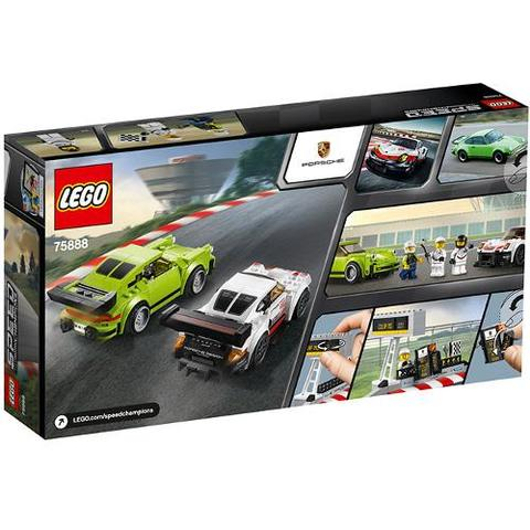 LEGO Speed Champions Porsche 911 RSR si 911 Turbo 3.0 75888