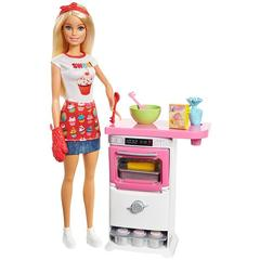 Mattel Barbie Bakery Chef Doll and Playset