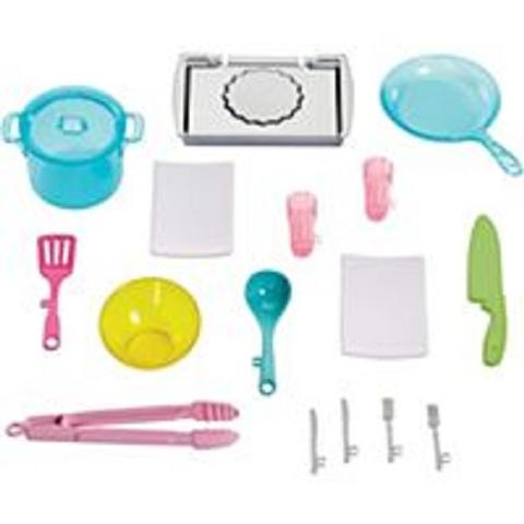 Mattel Barbie Doll and The Ultimate Kitchen Playset