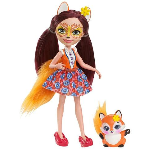Mattel Enchantimals Papusa FELICITY FOX