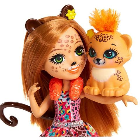 Mattel Enchantimals Papusa CHERIS CHEETAH