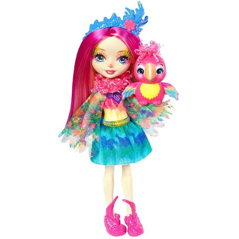 Mattel Enchantimals Papusa PEEKI PARROT
