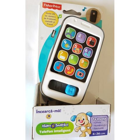 Fisher Price L&L Telefon Istet in limba romana