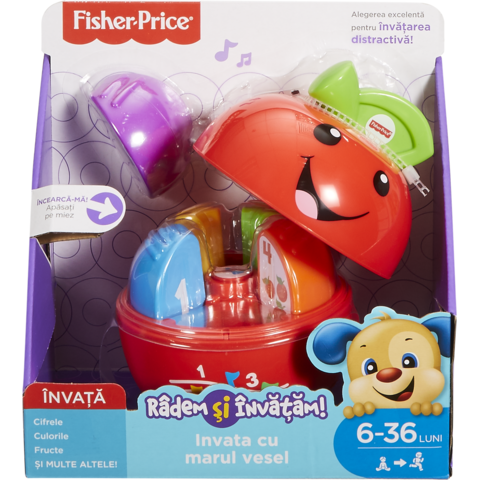 Fisher Price L&L Marul Vesel in limba romana
