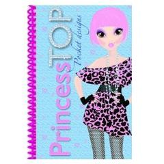 Princess TOP - Pocket designs (bleu)