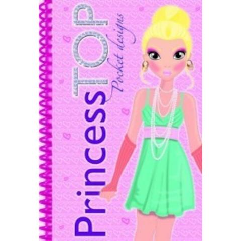 GIRASOL Princess TOP - Pocket designs (roz)