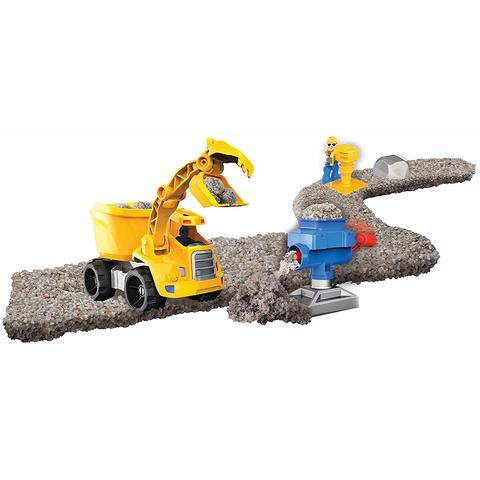 Spin Master Kinetic Sand Rock Set Excavator 340G