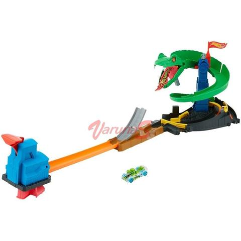 Mattel Hot Wheels Gama City Set de Joaca Cobra