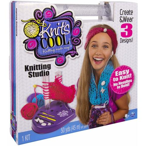 Spin Master Knits Cool Set Tricotat