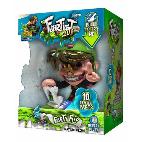 FARTIST CLUB Farty Flip Fartist Electronic Sound Figure 12 cm