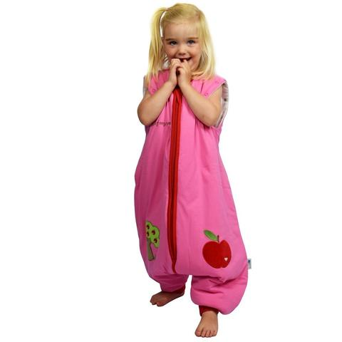 Slumbersac Sac de dormit cu picioruse si maneca lunga detasabila Apple of my eye 5-6 ani 2.5 Tog