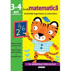 GIRASOL Activitati ingenioase si educative: Invat matematica 3-4 ani
