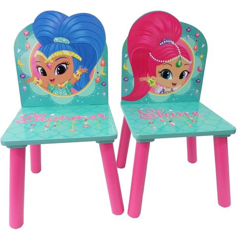 Global Set masuta si 2 scaunele Shimmer & Shine