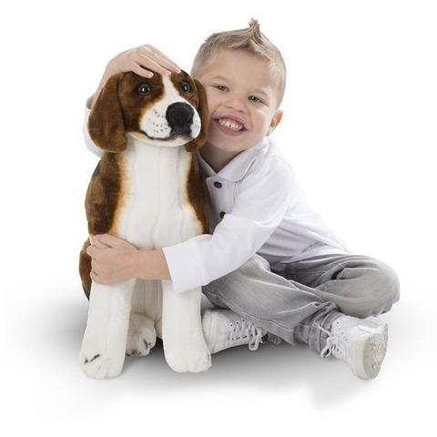 Melissa&Doug Catel din plus realistic Beagle - Melissa and Doug