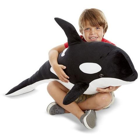 Melissa&Doug Orca gigant din plus - Melissa and Doug
