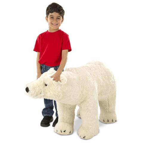 Melissa&Doug Urs Polar gigant din plus - Melissa and Doug