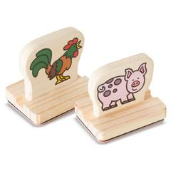 Primele mele stampile Animale de la ferma Melissa and Doug