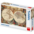 Dino Toys Puzzle - Harta istorica (1000 piese)