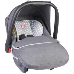 Lionelo - Scaun auto copii 0-13 Kg Noa Plus, Grey Scandi