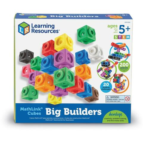 Learning Resources Set 200 piese MathLink