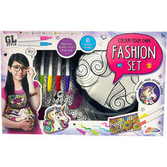Grafix Set de creatie 3 in 1 - Fashion