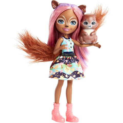 Mattel Enchantimals Papusa SANCHA SQUIRREL